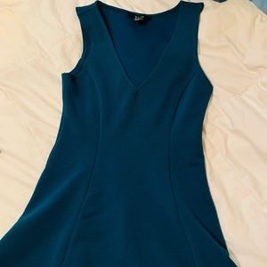 Forever 21 Blue Fit and flare dress womans small